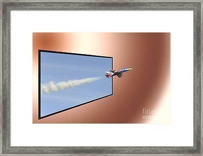 Bellota Jet Sebastiano Silvestri Framed Print