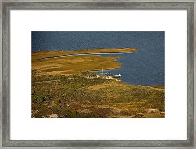 Bellport Beach Fire Island Framed Print