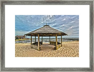 Bellport Ny - Gazebo Framed Print