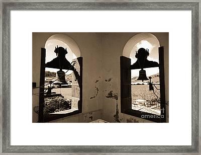 Bells Framed Print by Gaspar Avila