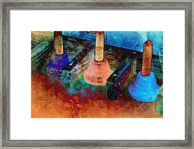 Bells Framed Print by Jan Amiss Photography