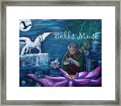 Bells Muse  Framed Print by The Art With A Heart By Charlotte Phillips
