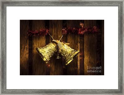 Bells Of Christmas Joy Framed Print by Jorgo Photography - Wall Art Gallery