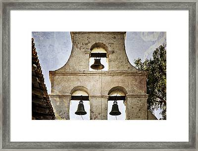 Bells Of Mission San Diego Framed Print
