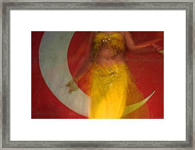 Belly Dance Framed Print by Matthias Hauser