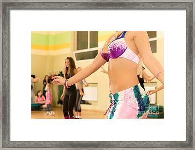 Belly Dancing Class Framed Print by Nikita Buida