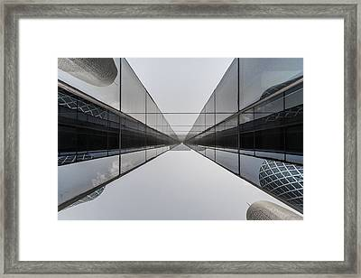 Belly To Building Framed Print by Charlie Tash