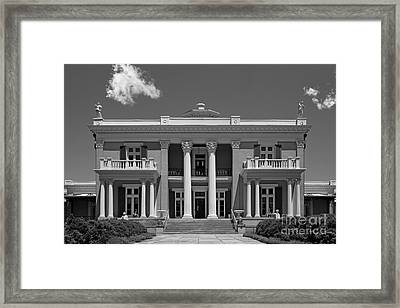 Belmont University Belmont Mansion Framed Print by University Icons