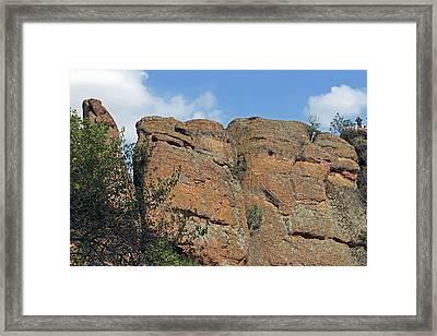 Belogradchik Rocks Framed Print by Tony Murtagh
