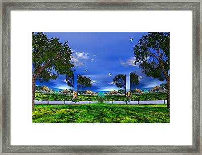 Framed Print featuring the photograph Belonging by Mark Blauhoefer