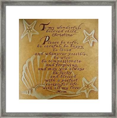 Beloved Child Framed Print
