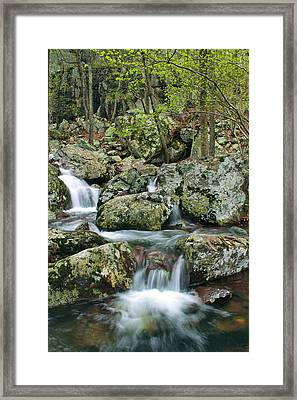 Below Mina Sauk Falls 1 Framed Print