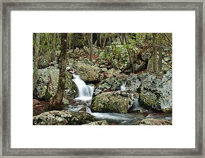 Below Mina Sauk Falls 2 Framed Print