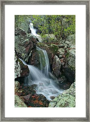 Below Mina Sauk Falls 4 On Taum Sauk Mountain Framed Print