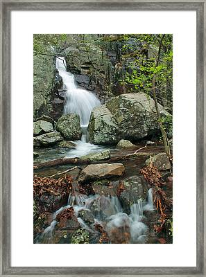 Below Mina Sauk Falls On Taum Sauk Mountain 3 Framed Print