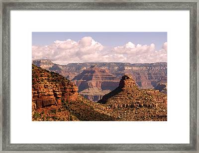Below The Rim Framed Print