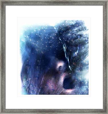 Below The Surface Framed Print by Gun Legler