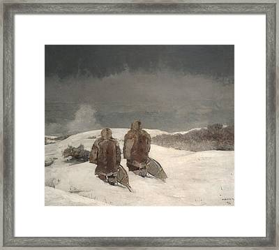 Below Zero Framed Print by Celestial Images