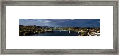Belpre Bridge Framed Print