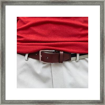 Belt  Framed Print by Tom Gowanlock