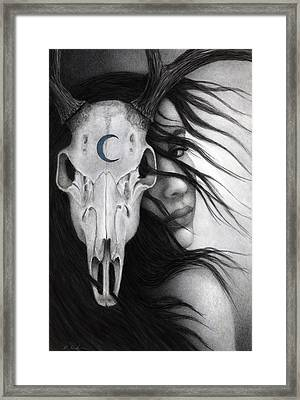 Framed Print featuring the painting Beltane by Pat Erickson