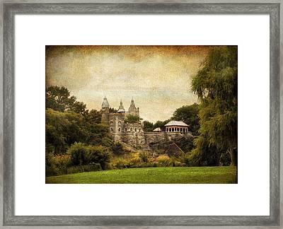 Belvedere Castle Framed Print by Jessica Jenney