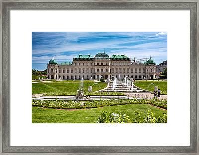 Belvedere Gardens Framed Print by Viacheslav Savitskiy