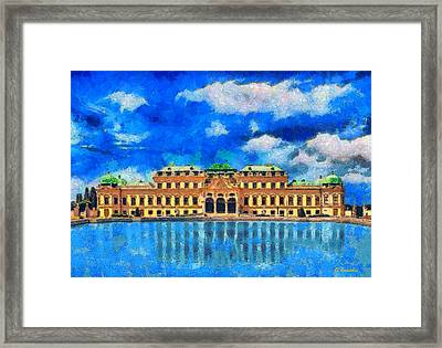 Belvedere Palace Framed Print by George Rossidis