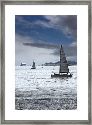 Bembridge Pier From Gosport Framed Print by Terri Waters