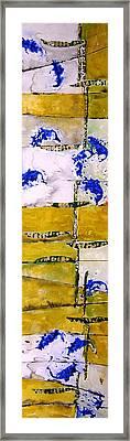 Ben And Jewel Panel 3 Framed Print by Sandra Gail Teichmann-Hillesheim