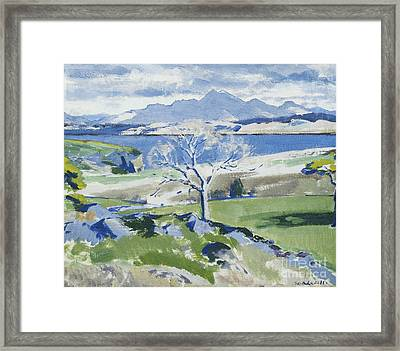 Ben Cruachan From Achnacraig Framed Print by Francis Campbell Boileau Cadell