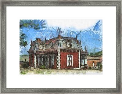 Ben Ferrel Museum  Framed Print