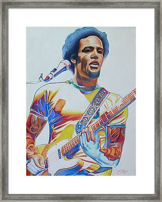 Ben Harper Framed Print by Joshua Morton