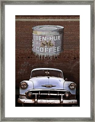 Ben Hur Coffee Framed Print by Larry Butterworth