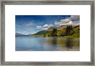 Framed Print featuring the photograph Ben Lomond by Stephen Taylor