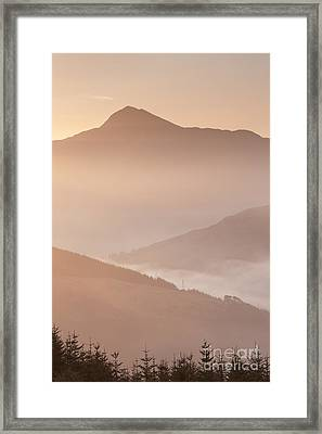 Ben Lomond Dawn Framed Print