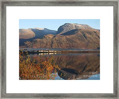 Ben Nevis - Autumn Framed Print