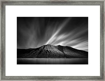 Ben Starav Framed Print by Dave Bowman