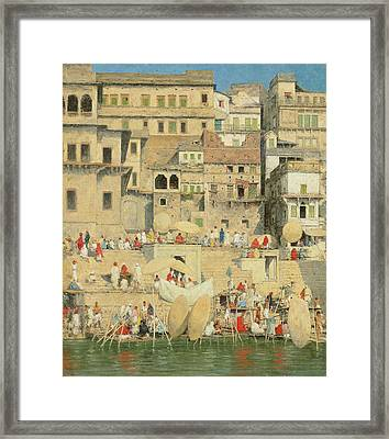 Benares Framed Print by Mortimer Ludington Menpes