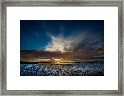 Benbecula Sunset Framed Print