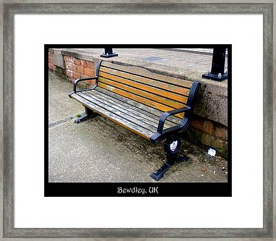 Bench 11 Framed Print by Roberto Alamino