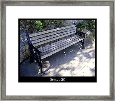 Bench 12 Framed Print by Roberto Alamino