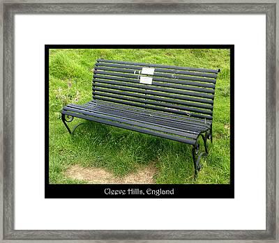 Bench #17 Framed Print by Roberto Alamino