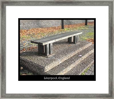 Bench #19 Framed Print by Roberto Alamino