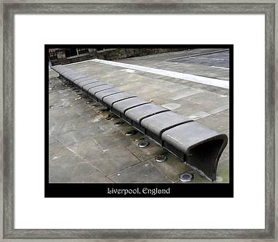 Bench #22 Framed Print by Roberto Alamino