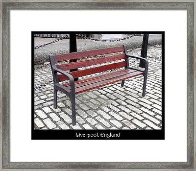 Bench #26 Framed Print by Roberto Alamino