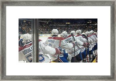 Bench Celebration Framed Print