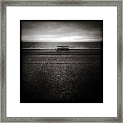 Sea View Framed Print by Dave Bowman
