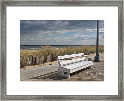 Bench Warmer Framed Print