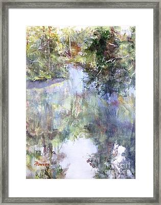 Bend In The River Framed Print by Mary Lynne Powers